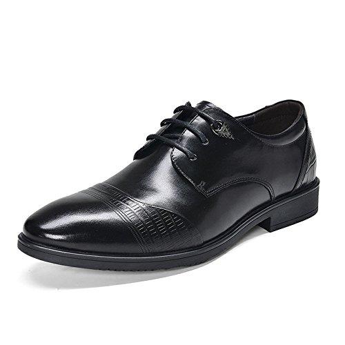 uomini uomini è una cosa casuale le scarpe, scarpe di pelle, business casual scarpe, scarpe di cuoio di pizzo black