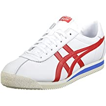 Onitsuka Tiger - Tiger Corsair White/True Red - Sneakers Hombre - 44.5 EU