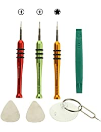 Kits de reparación Desmontar las herramientas del kit de herramientas del destornillador abertura de la reparación del teléfono con una estructura especial para el iPhone 6 y 6S