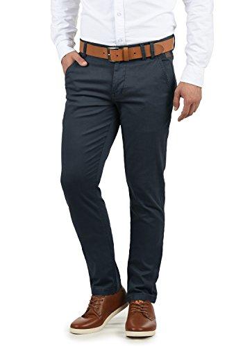 SHINE Original Belfo Herren Chino Hose Stoffhose Strech Regular Fit, Größe:W36/34, Farbe:Navy