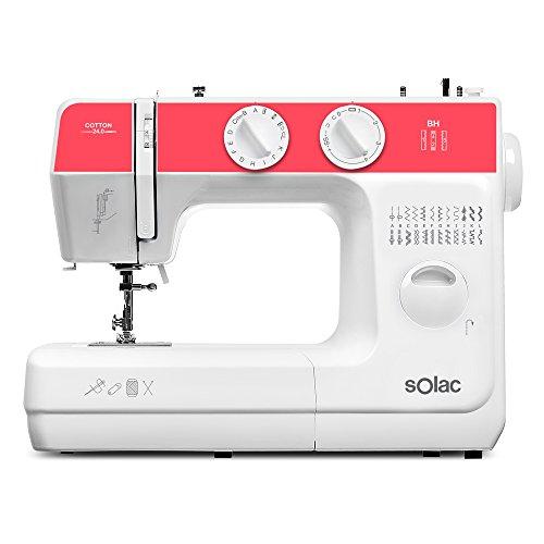 Solac SW8240 Cotton 24.0 Máquina Coser Mecánica