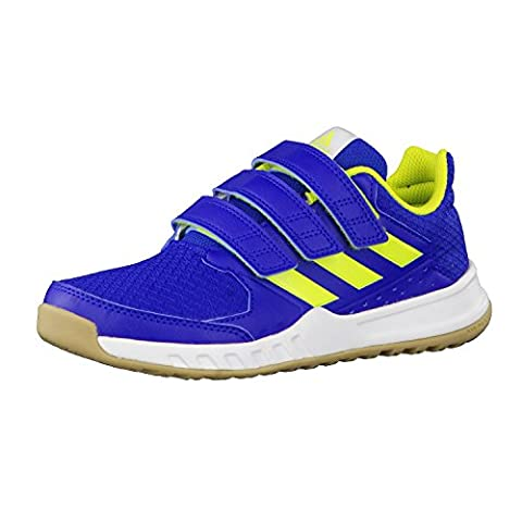 adidas Kinder Turnschuhe FortaGym CF K collegiate royal/semi solar yellow/ftwr white 32