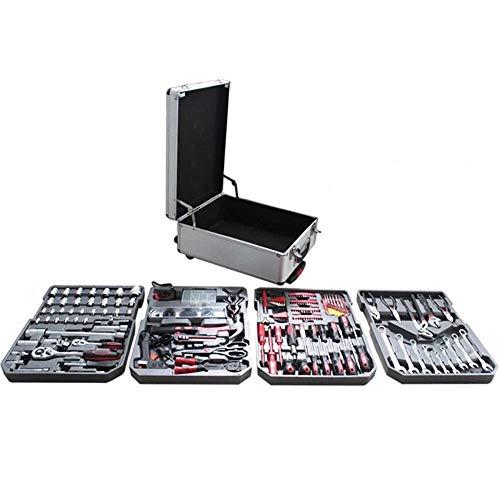 SXXMY Werkzeugkoffer Werkzeug Set 599 Stück Satz von Hardware-Tools Kombination Heimtrikot Tools Auto Repair Tool Carbon Stahl