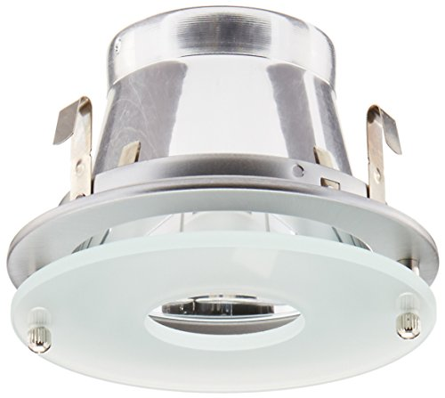 Frosted Clear Glass (Elco Lighting EL926N 4 Clear Reflector with Suspended Frosted Glass - EL926 by Elco Lighting)