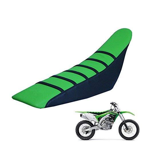 Couverture universelle de siège de pince universelle pour Kawasaki toute la moto Dirt moto vert