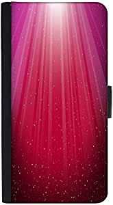 Snoogg Red Background Designer Protective Phone Flip Back Case Cover For Samsung Galaxy J7 (2016)