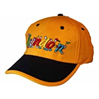 Socks Uwear Unisex Child Baseball Cap Embroidered London Logos Summer Sun Hat Yellow