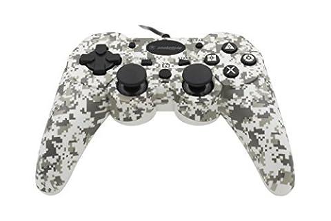 Snakebyte Wired:Con Digital Camouflage - Kabelgebundener PS3 Controller - Gamepad / Joystick für Sony Playstation 3 - 3 m Kabel