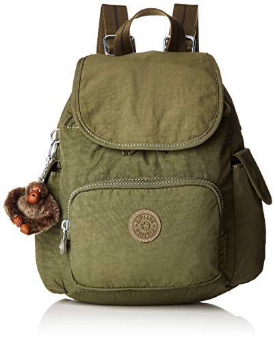 Kipling City Pack Mini - Zaini Donna, Verde (Jaded Green C)