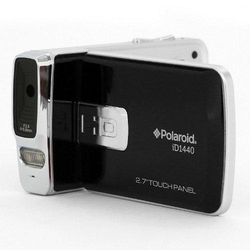 Black : Polaroid ID1440-BLK-KHL Polaroid 14 MP 4x Zoom Digital Camcorder with 2.7-Inch LCD Screen (Black)