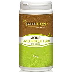 Acide L-Ascorbique E300 1 Kilo en poudre - Vitamine C - Pierre Jérôme®