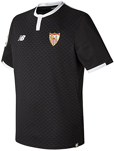 Camiseta Sevilla FC MC 3ª 2017-2018 Negro Talla XL