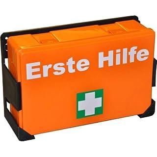 2 x Erste Hilfe Koffer K-04 orange, leer ohne Inhalt
