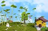 Dekoartikel 3 stücke harz miniatur baum diy handwerk zubehör hausgarten dekoration zubehör Globen Bücher Dekoration Garten Übertöpfe Lebensmittel Getränke Dekoration