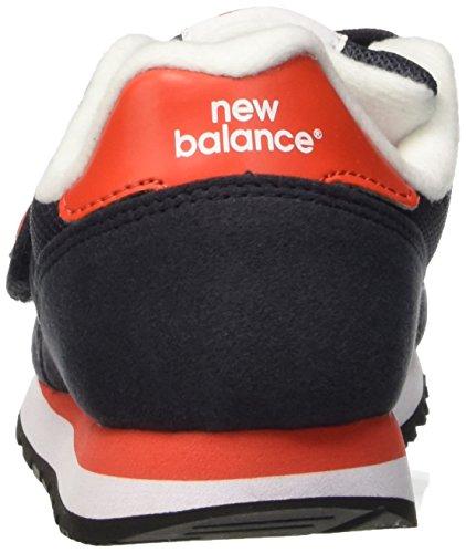 New Balance Nbkv373vrp, Scarpe da Ginnastica Unisex – Bambini Blu (Navy Red)