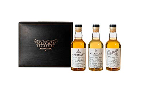 Das Single Malt Whisky Collection Discovery Probierset by John Dewar & Sons, 3 x 200ml - Live Whisky Tasting am 24.10.19