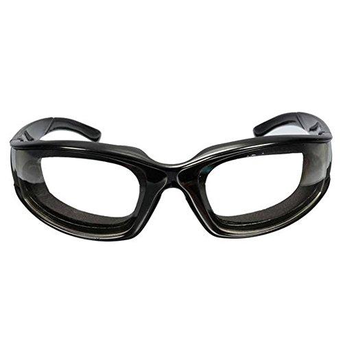 szdc88 New Black Onion Goggles Schutzbrillen reißen frei Schneiden Schneiden Hacken Hackfleisch Auge Schützen Brille(schwarz)