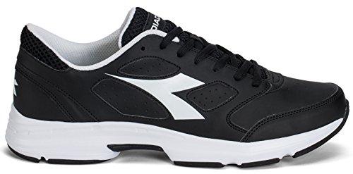 Diadora Schuh Running Sneaker Jogging Herren Shape 7SL Jet Black/White Schuhe Jet black/white