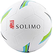 Solimo Moulded Rubber Football, Size 5