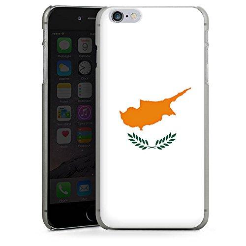 Apple iPhone 6 Housse Étui Silicone Coque Protection Chypre Drapeau Drapeau CasDur anthracite clair