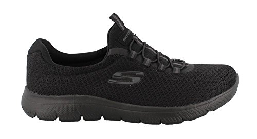 Skechers Summits, Sneaker Donna Nero (Black)