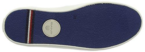 Gant - Zoe, Mocassini Donna Multicolore (Mehrfarbig (vintage blue faded stripes G86))