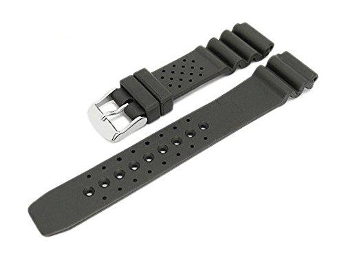 Meyhofer Uhrenarmband Atlantis 16mm schwarz Kautschuk MyBnskb01/16mm/schwarz/oN - Atlantis