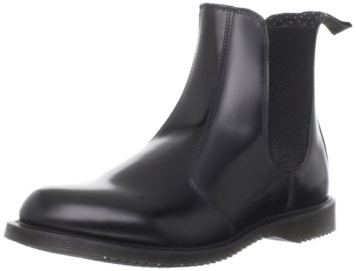 Dr. Martens Kensington Flora Scarpe A Collo Alto, Donna, Nero (Black Polished), 37