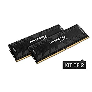 HyperX HX436C17PB4K2/16 Predator DDR4 16 GB (Kit 2 x 8 GB), 3600 MHz CL17 DIMM XMP