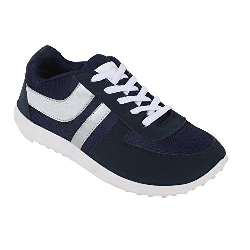 World Wear Footwear Men's Blue EVA Sports & Outdoor Shoes-10  available at amazon for Rs.198