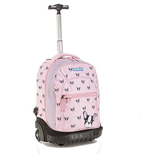 Zaino trolley run mitama girl - pink dog