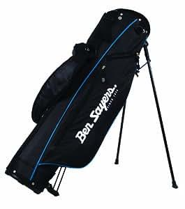 Ben Sayers Stand Pencil Bag - Black/Blue, 6 Inch