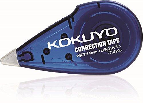 Kokuyo Correction Tape 5mm - 6 metre - Color May Vary