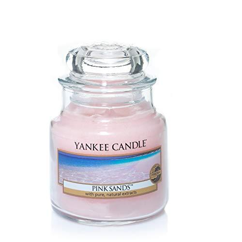 Yankee Candle Yankee candle kleine duftkerze im glas pink sands brenndauer bis zu 40 stunden