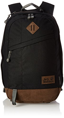 Jack Wolfskin Unisex Tagesrucksack Kings Cross, black, 53 x 34 x 7 cm, 24 liters, 2003281-6000