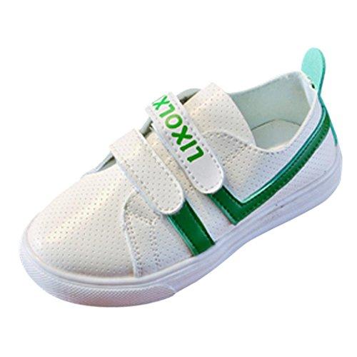 JIANGFU JIANGFU Flache Schuhe der Kinder Weiße Schuhe Sportschuhe, Baby  Kinder Fashion Sneaker Kinder Jungen