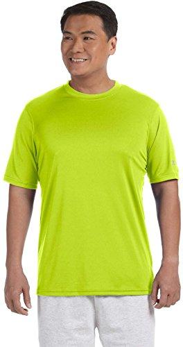 Stag Party, Brown auf American Apparel Fine Jersey Shirt grün - Safety Green