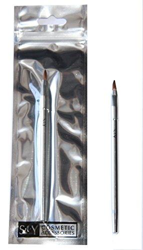 24 x s.t.y. Designs Pinceau à lèvres | 15 cm Emballage Film | | de cosmétiques