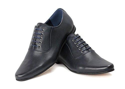 Herren Smart Schnürschuhe Anzugschuhe für Office Hochzeit Formell Works Marine
