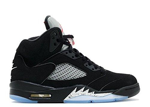 nike-herren-air-jordan-5-retro-og-bg-basketballschuhe-black-schwarz-feuer-rot-metallic-silber-weiss-