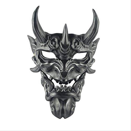 ZAZCB Devil's Game Toy Grimasse Devillike Doll Halloweens fortschrittliches Harzmasken-Spielzeug C