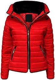 Amazon.co.uk: Red - Coats &amp Jackets / Women: Clothing