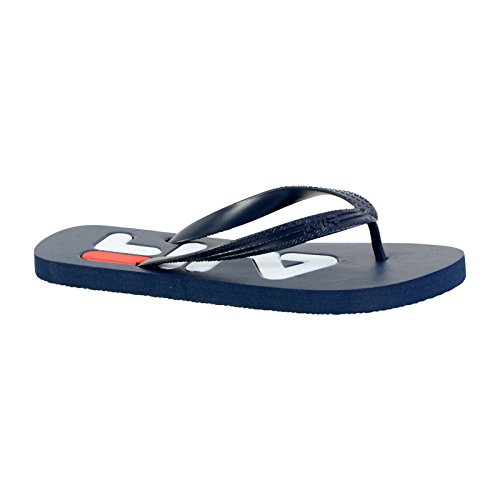 Fila Herren Troy Slipper Flip Flops Synthetik Zehentrenner Dress Blue
