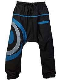 Goa Pluderhose, Aladinhose / Männerhosen, alternative Bekleidung von Guru-Shop