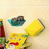 Tipo:Scaffali e porta-oggetti,Materiali corpo:Plastica,Materiale maniglia:Plastica,Dimensioni del prodotto:11.2*3.8*4.2cm,Peso netto (kg):0.05,Peso alla spedizione (kg):0.06,