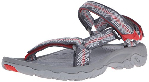 TevaHurricane XLT M's - Sandali da Atletica Uomo , Grigio (Grau (Geometric Grey/Red 899)), 48.5