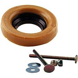 westbrass d0233-40Dick Wachs Ring Dichtung Wachsring mit Flansch & geschlossenen Bolzen