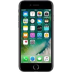 Idea Regalo - Apple iPhone 7 Nero (Nero Opaco) 128GB (Ricondizionato)