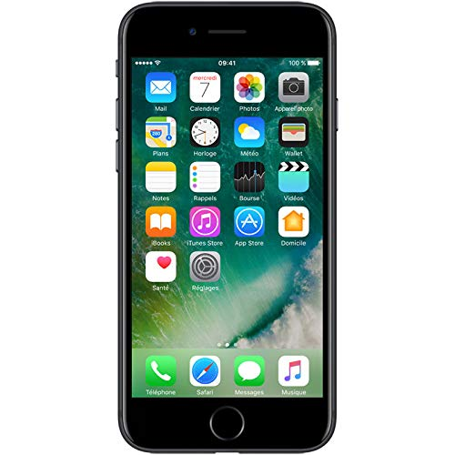 Apple iPhone 7 Smartphone Libre Negro 128GB...