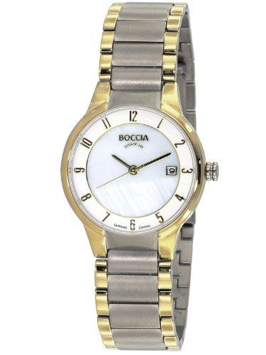 Boccia Titanium Damen-Uhr 3228-02